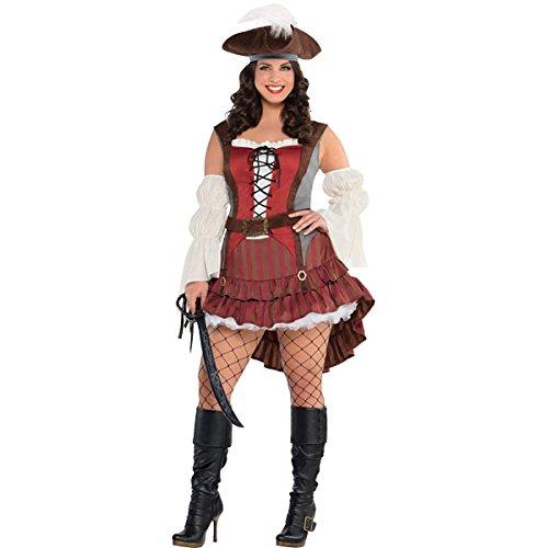 Womens Castaway Pirate Costume