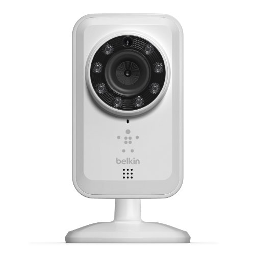 Lowest Price! Belkin NetCam Wireless IP Camera for Tablet and Smartphone with Night Vision and Digit...