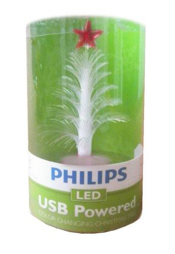Philips Led Usb Powered Mini Color Changing Christmas Tree