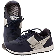 GOLDSTAR SHOES Walking/ Running/ Martial Arts Shoe Made In Nepal Black/Blue Size 7,8,9 Original DRAGON Sports