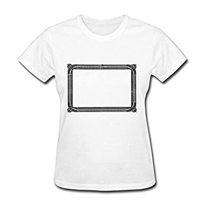 Custom Simple Spike Frame Cotton Women Popular Shirts Gray