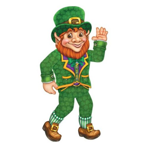 Jointed Leprechaun Party Accessory (1 count) (1/Pkg)