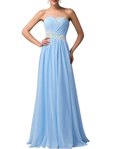 GRACE-KARIN-Strapless-Long-Evening-Dress-with-Appliques-CL6107-Multi-Colored
