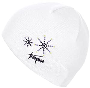 Trespass Girl's Sparkle Hat - White, Age 5-7