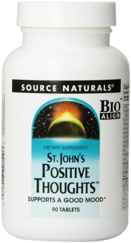 Source Naturals St. John'S Positive Thoughts, 90 Tablets