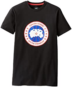 Canada goose men 39 s t shirt black medium for Canada goose t shirt