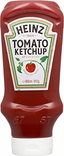 Heinz Tomato Ketchup - Top Down (910G) front-510516