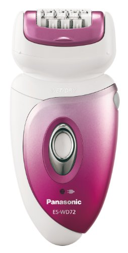 Panasonic Wet and Dry 3-Head Lady's Epilator
