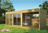 Gazebo in legno da giardino da 8mq a 21mq