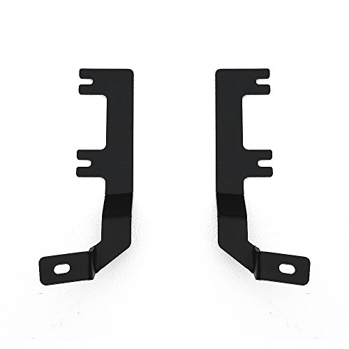 ZROADZ 2009-2016 DODGE  RAM 1500 Z364521 Black Hood Hinges A-Pillar LED Mount (Ram 1500 Hood Hinges compare prices)