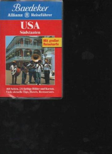 Baedecker Reiseführer USA Südstaaten 1996,