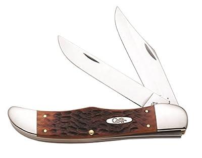 Case 7016 Chestnut Bone TB61028W CV Tear Drop Knife