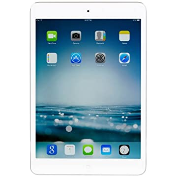 Apple iPad mini with Retina Display, 16GB, Wi-Fi (2014/2013 Version, White/Silver, ME279LL/A)