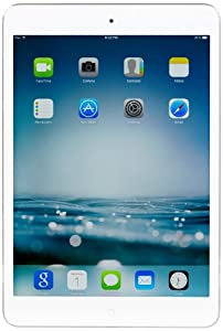 Apple iPad mini with Retina Display (16GB, Wi-Fi, Silver/White model number: ME279LL/A) NEWEST VERSION