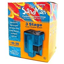 Sandman 3 Stage Power Filtration System has a 3 stage power filtration system for 10 to 38 gallon aquariums.