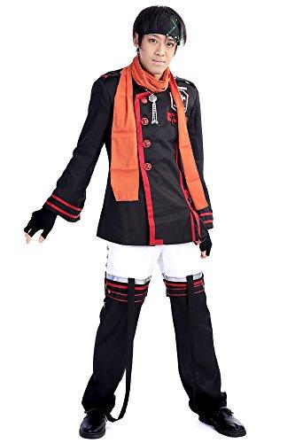 [De-Cos D.Gray-Man Cosplay Costume Baka Usagi Lavi Exorcist Uniform Outfit Set V3] (Exorcist Halloween Costume Uk)