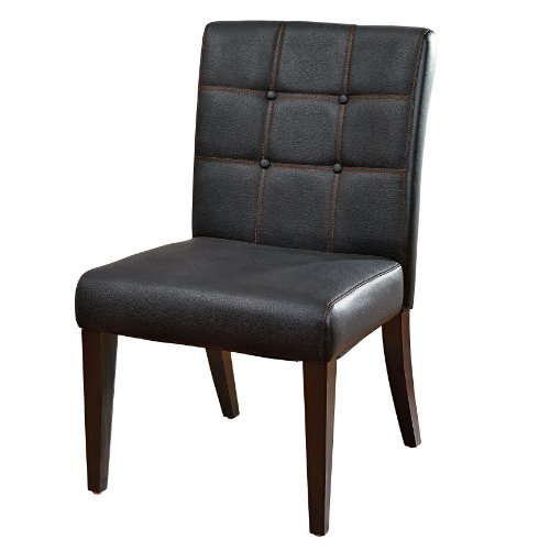 Plus+Size Living Extra Wide Faux Leather Parson Chair (BLACK CHERRY,0)  Preview Reviewing Of All Best Products