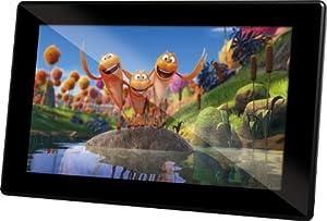 Rollei Designline 6160 HD (digitaler Multi-Media Bilderrahmen (39,6 cm (15,6 Zoll) TFT-LED HD Panel, 4GB interner Speicher) schwarz