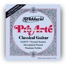 D'Addario EJ45TTx5  Classical Guitar Strings, Pro-Arte Dyna,