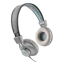 House of Marley EM-JH010-SM Positive Vibration Mist On-Ear Headphones EM-JH010-PS