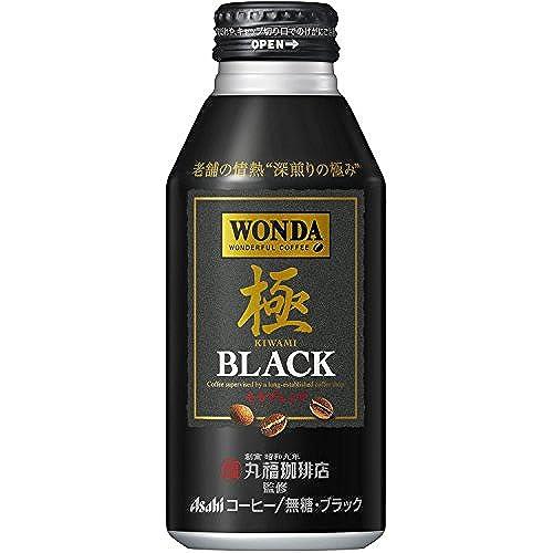 [일본 아사히 캔커피 원다 WONDA] 아사히 원 다 극 블랙 보틀관 400g×24개
