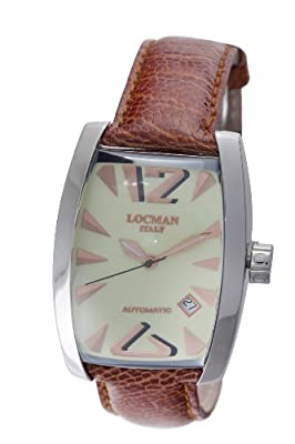 Locman Men's 150AVGN Panorama Collection Steel Watch