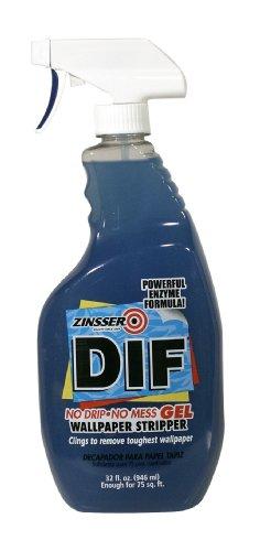 Zinsser 2466 DIF GEL Spray Ready To Use Wallpaper Stripper, 32-Ounce