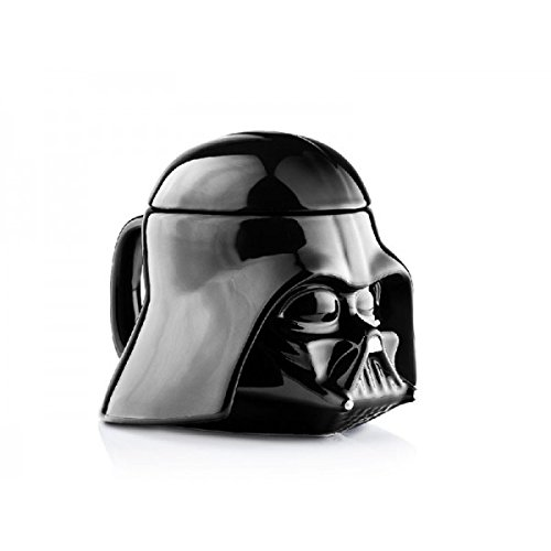 Joy Toy Darth Vader Tazza Di Ceramica 3D, Ceramica, Multicolore, 13X13X13 Cm