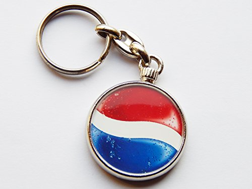 pepsi-fizzy-drink-quality-chrome-keyring-picture-both-sides