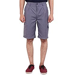 FBBIC Aesthetic Gray Men's Solid Short(Size::XS)