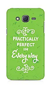 AMEZ practically perfect in every way Back Cover For Samsung Galaxy J5