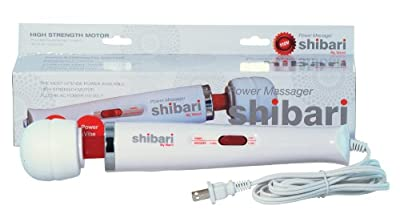 Shibari SHIB-WHT Magic Wand Power Massager