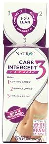 Natrol Carb Intercept 3 Capsules 60-Count