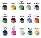 Face paint - Hypoallergenic face paint for kids, Lead free painting with stacking jars, Even for the most sensitive skin, best for parties, Halloween and sporting events, makes your favorite designs even better, Certified Organic and Made in USA.