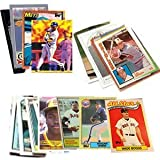 40 Baseball Hall-of-Fame & Superstar Cards Collection Including Cal Ripken, Nolan Ryan, Ken Griffey, Babe Ruth, Tony Gwynn, & Wade Boggs. Ships in Protective Plastic Case Perfect for Gift Giving.