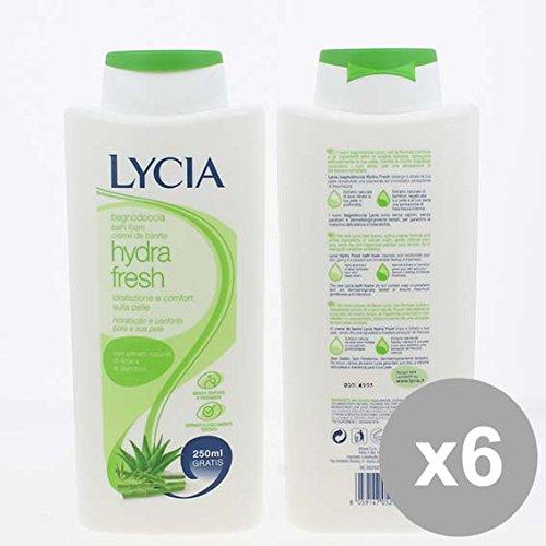 Set 6 LYCIA Bagno 500+250 Hydra Fresh Bagnoschiuma e saponi per il corpo