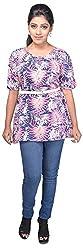 SSMITN Women's Regular Fit Top (Multicolor, SN9043 _ Small)