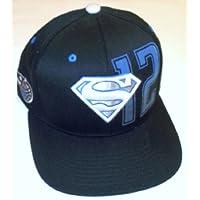 Orlando Magic Superman Flat Brim Flex Adidas Hat - S/M - TU15Z