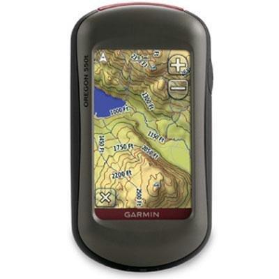 Garmin Oregon 550T 3-Inch Handheld GPS Navigator with 3.2MP Digital Camera (U.S. Topographic Maps)