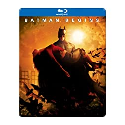 Batman Begins (SteelBook Packaging) [Blu-ray]