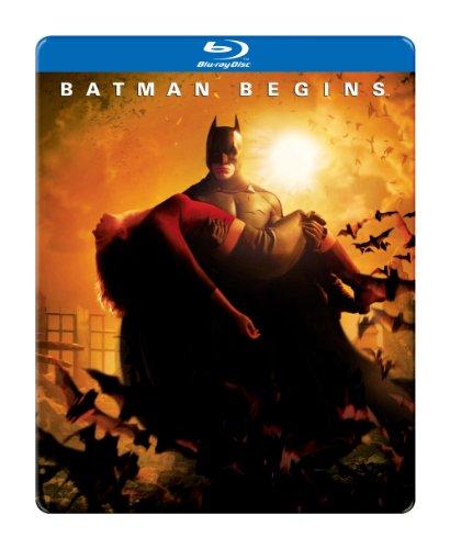 Batman Begins Steelbook Packaging Blu-ray at Gotham City Store
