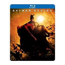 Batman Begins (SteelBook Packaging) [Blu-ray]