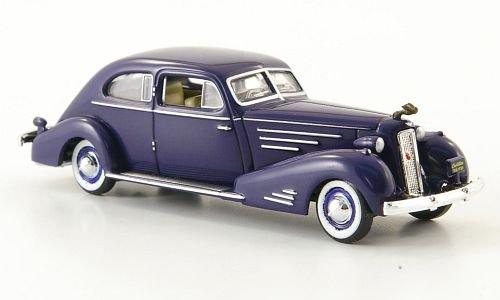 cadillac-v16-aerodynamic-coupe-dunkelblau-1934-modellauto-fertigmodell-ricko-187
