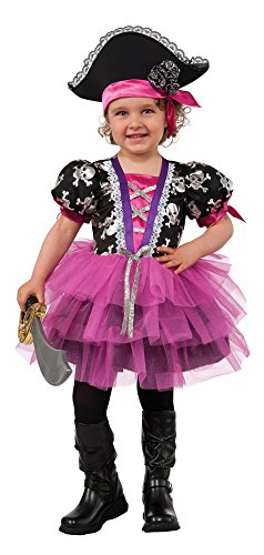 Rubie's Costume Pirate Princess Child Costume, Toddler