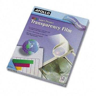 Transparency Film for Color Laser Printers/Copiers, Letter,