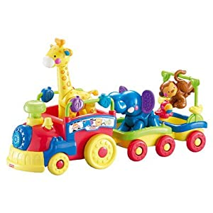 Fisher-Price Train musical des animaux