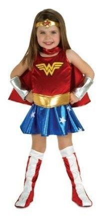 Deluxe Officially Licensed New Toddler Wonder Woman Costume