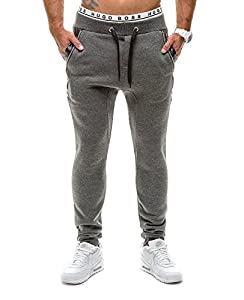 BOLF - Pantalons de sport - Jogging pantalons - J.STYLE K14 - Homme - L Anthracite [6F6]