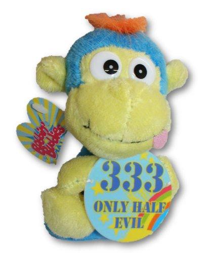 "Bobbin Buddies Plush Novelty Toys - ""333 Only Half Evil"" - 1"