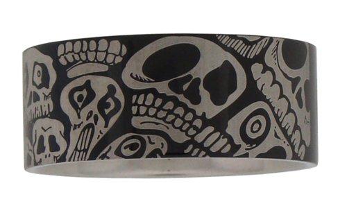 Harley-Davidson Skulls Stainless Steel Ring (6)
